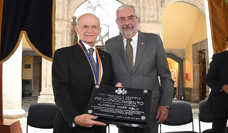 Reconocimiento UNAM